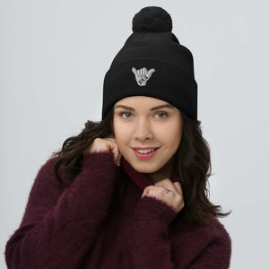 Open image in slideshow, Local Shaka Pom Beanie