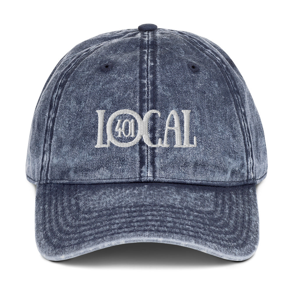 Local Vintage Cotton Twill Cap