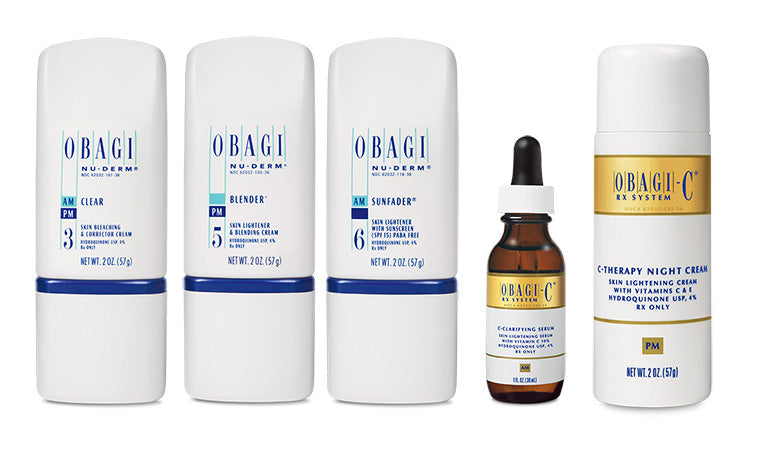 Due to new regulations, the following Obagi products are only sold in office: