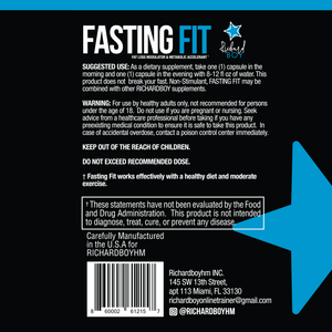 Fasting Fit for Men & Women