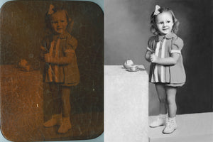 RESTORING, SAVING, ENHANCING & PRINTING TREASURED PHOTOS