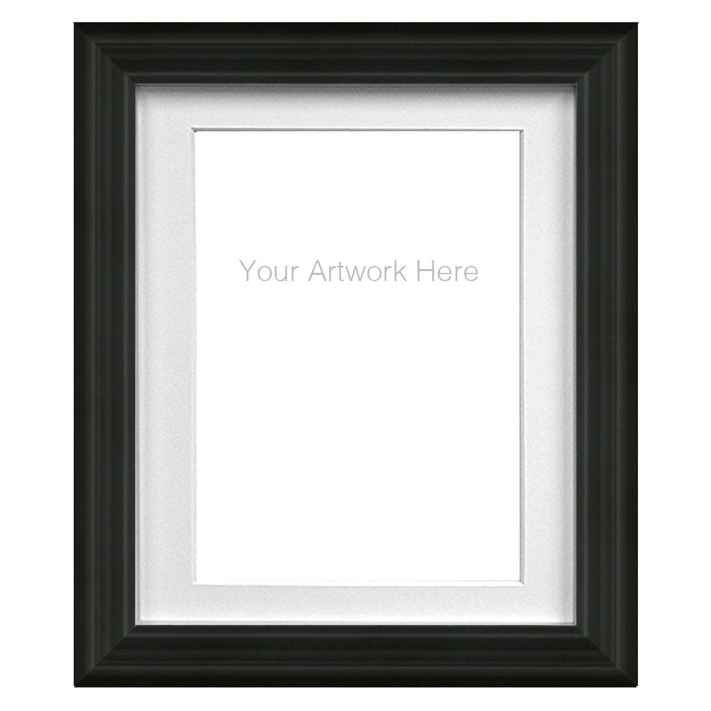 Ornate Frame with White Mat