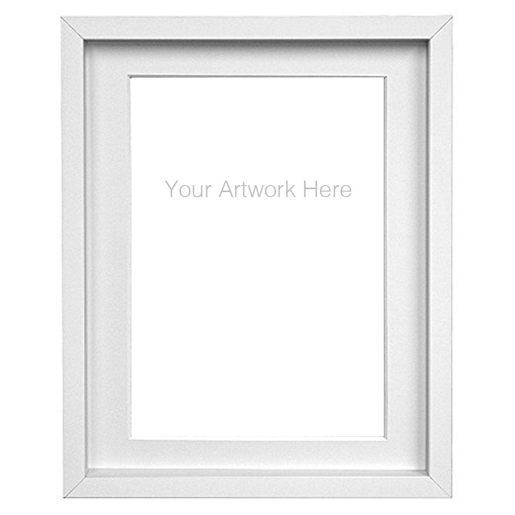 Simple Frame with White Mat