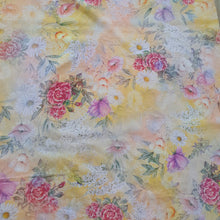 Load image into Gallery viewer, Floral Print Giza Cotton Fabric