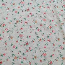 Load image into Gallery viewer, Floral Print Giza Cotton Fabric - Off White Base