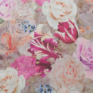 Floral Print on Giza Cotton Fabric