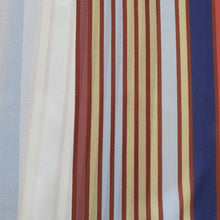 Load image into Gallery viewer, Digital Print on Georgette Fabric - Multi Colored Stripes- Two Color Options