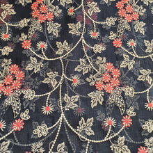 Load image into Gallery viewer, Floral Embroidered Kota Doriya Fabric - Multiple Color Options