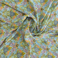 Load image into Gallery viewer, Floral Digital Print on Viscos Crepe Fabric