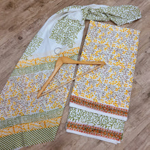 Load image into Gallery viewer, PURE COTTON WITH DUPATTA SUIT SET-OFF WHITE