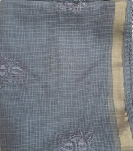 Load image into Gallery viewer, Kota dupatta grey