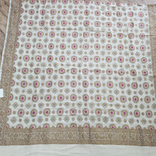 Load image into Gallery viewer, Pure Muga silk Antique Zari work Dyeeable Dupatta