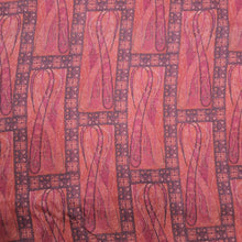 Load image into Gallery viewer, Carrot Pink Muslin Rayon Digital Print