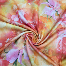 Load image into Gallery viewer, Multi Color Pure Spun Digital Printed Fabric