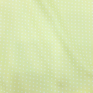 Lemon Glace Cotton Polka Dot