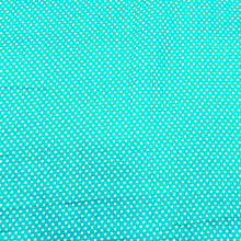 Load image into Gallery viewer, Sea Green Glace Cotton Polka Dot