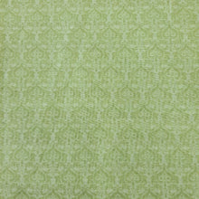 Load image into Gallery viewer, Light Green Poly Chanderi Self Printed Fabric