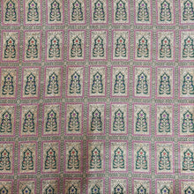 Load image into Gallery viewer, Dark Green base with Antique Mughal Kaduva Buti Style on Pure Katan Silk Fabric