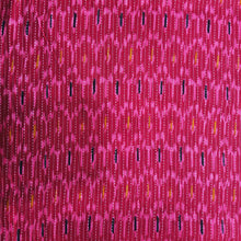 Load image into Gallery viewer, Pink Abstract Block Print Cotton Katha Fabric
