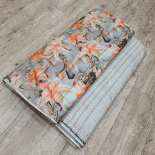 Load image into Gallery viewer, Beige Viscose Tussar Digital Printed Top & Bottom-2.5 mtr each