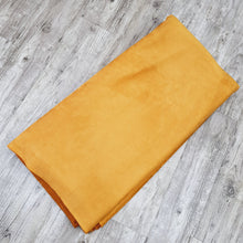 Load image into Gallery viewer, Yellow Suede soft beautiful winter fabrics