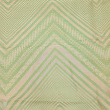 Load image into Gallery viewer, Light Mehandi Green Brocade Pure Banarsi silk Water Gold Zari Fabric
