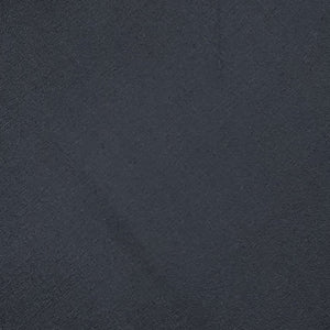 Black Plain Woven Cotts Wool Fabric