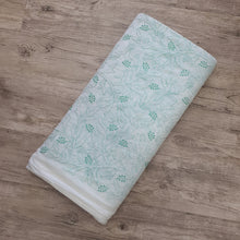 Load image into Gallery viewer, Light Sea Green Embroidered Kota Doriya Fabric