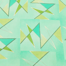 Load image into Gallery viewer, Pista Green Cotton Flex With Khaddi Prints Abstract Patterns