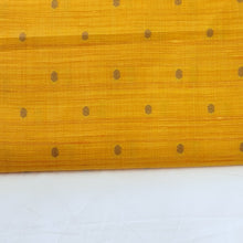 Load image into Gallery viewer, Turmeric Yellow & Milky White Viscose Tussar Buty Fabric For Men's Kurta-Pajama Set