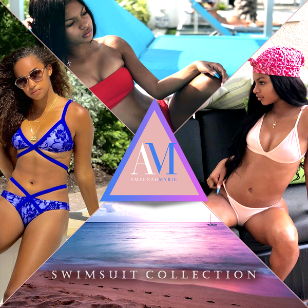 Ameenah Myrie Swimsuit Collection Image