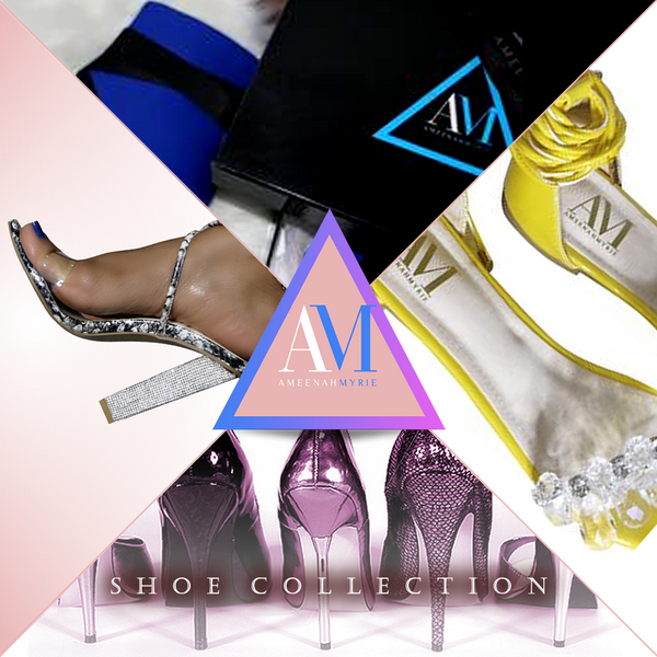 Ameenah Myrie Shoe Collection Image