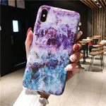 Marble Case on For Coque iphone 7 XS MAX Case Soft TPU Back Cover For iphone 6 6S 7 8 Plus iphone X XR Case Cover Phone Case