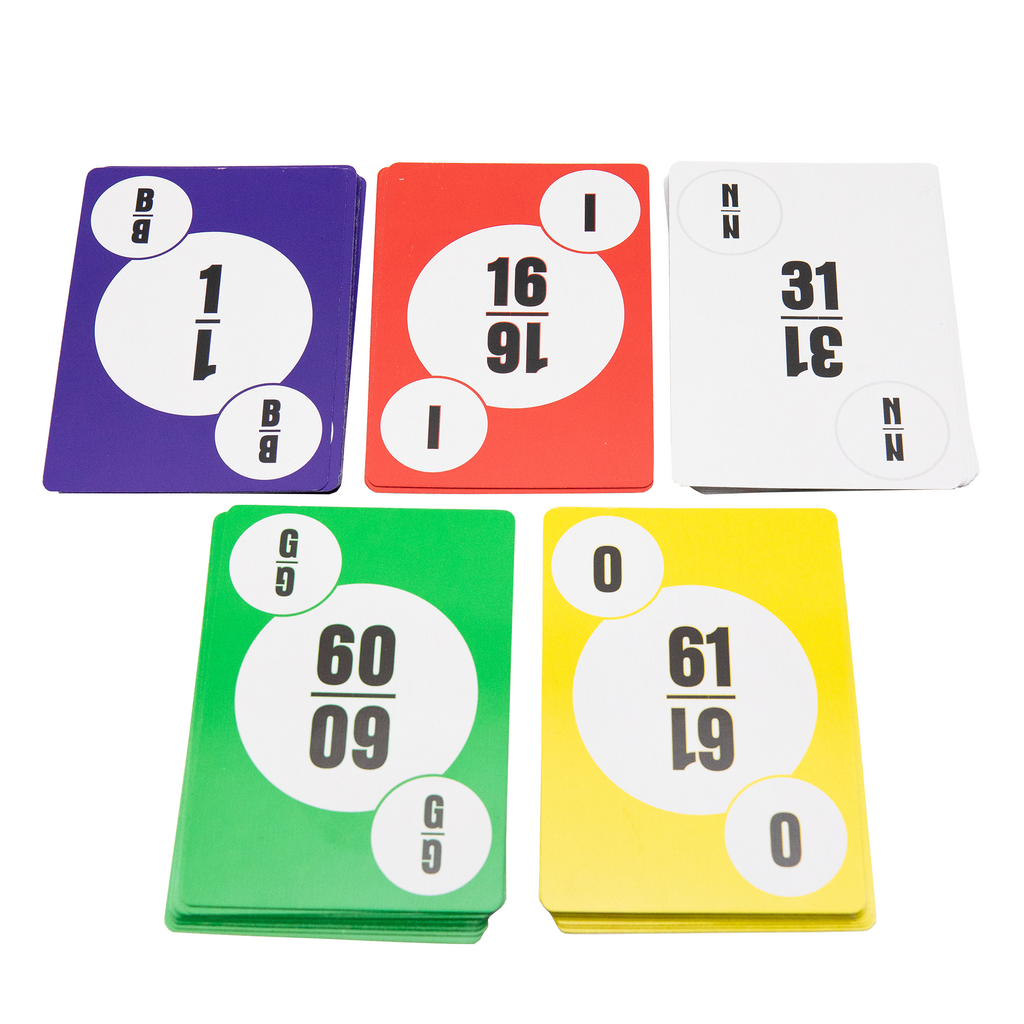 Bingo Calling Cards - Bingo Equipment - Jackpot Bingo Supplies