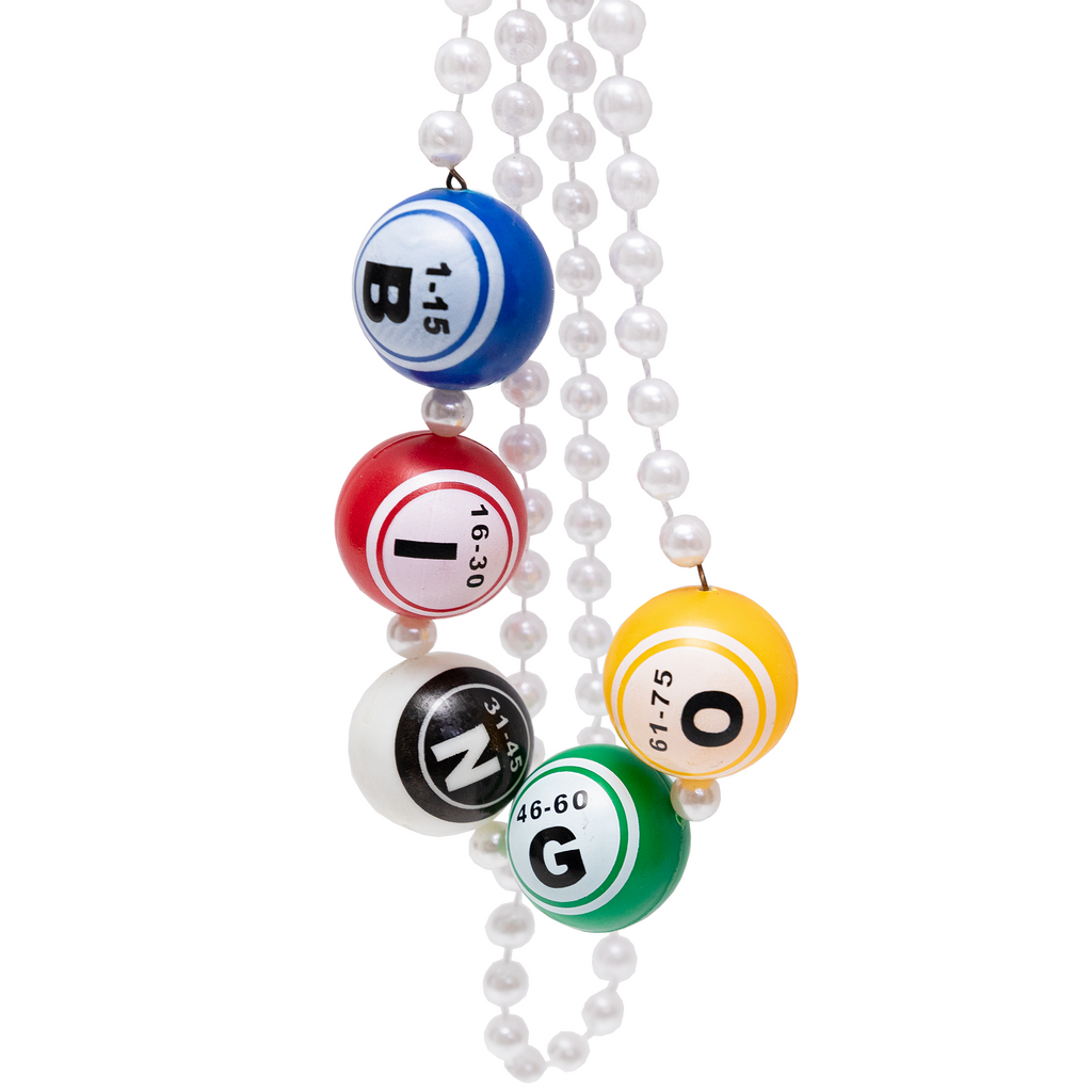 Bingo Ball Necklace - Bingo Accessories - Jackpot Bingo Supplies