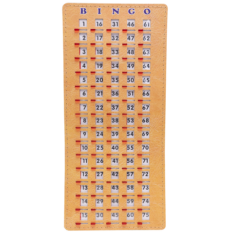 Finger Tip Bingo Masterboards - Stitched - Bingo Equipment - Jackpot Bingo Supplies