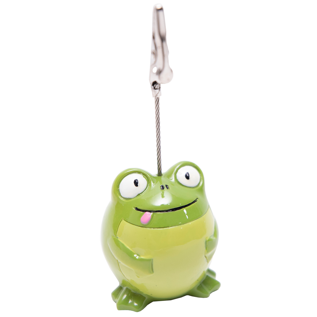 Chubby Frog Bingo Ticket Holder - Bingo Accessories - 1 per pack - Jackpot Bingo Supplies