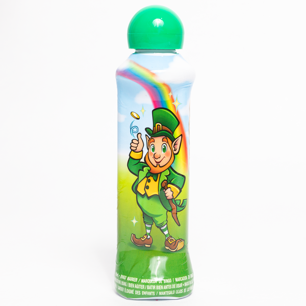 St Patrick's Day Bingo Dauber - Green Ink Markers - 3 ounce size bottle - Jackpot Bingo Supplies