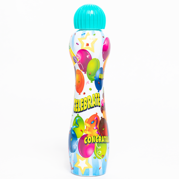 Celebrate Bingo Dauber - Aqua Ink Marker - 3 ounce size bottle - Jackpot Bingo Supplies