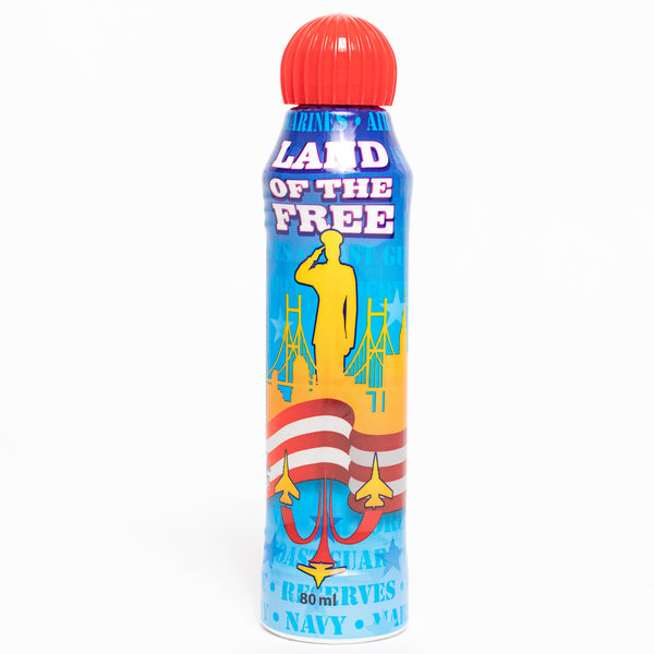 Land of the Free Patriotic Bingo Dauber - Red Ink Markers - 3 ounce size bottle - Jackpot Bingo Supplies