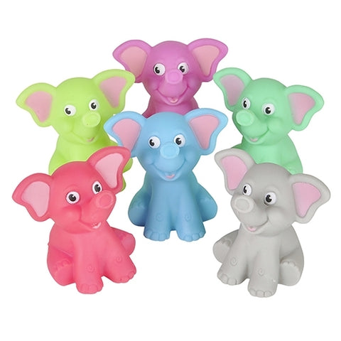 Rubber Elephants - Bingo Accessories - 12 per pack - Jackpot Bingo Supplies