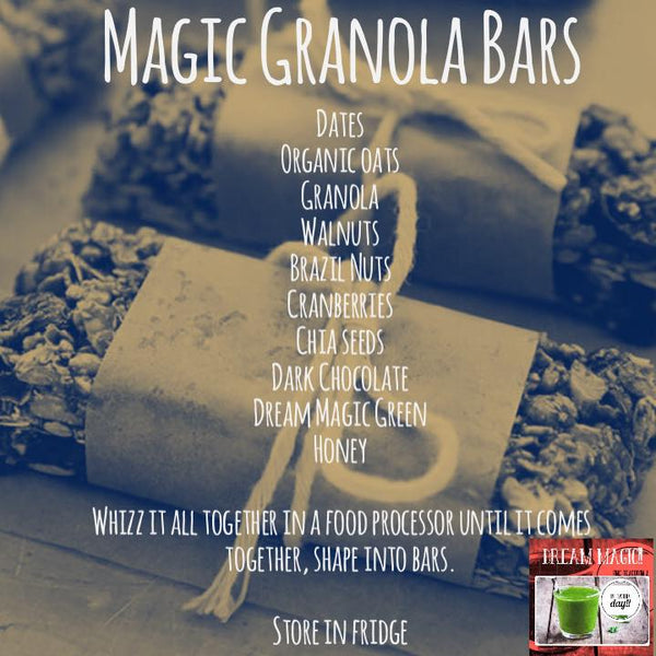 Magic Granola Bars
