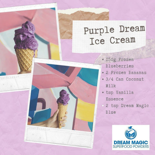 Purple Dream Ice Cream