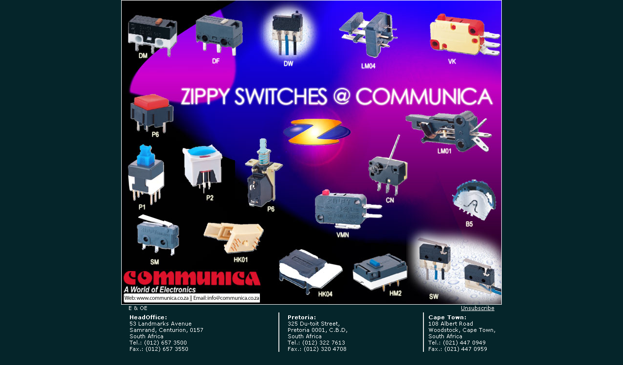 Zippy Micro and Push Button Switches
