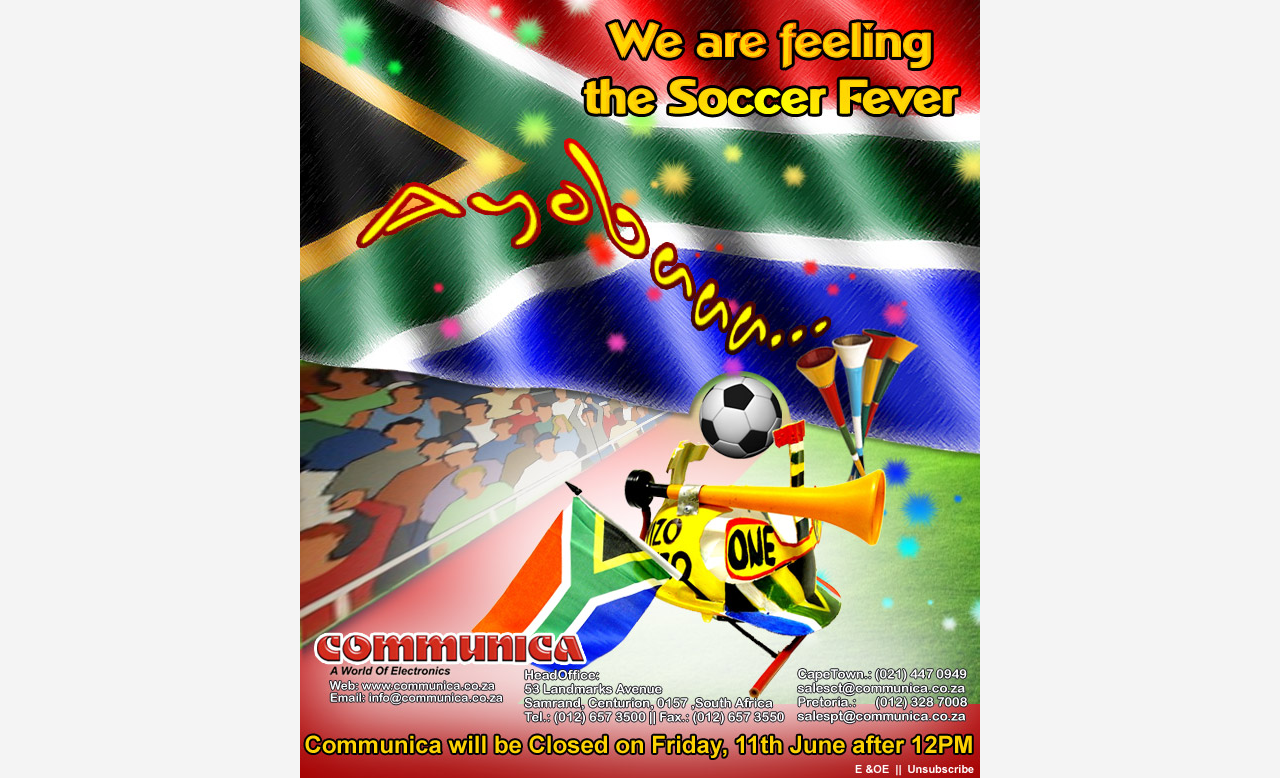 Communica Soccer Fever...