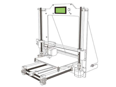 ITE PRUSA I3 DIY 3D PRINTER KIT