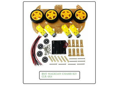 BMT MAGICIAN CHASSIS KIT CLR 4X4