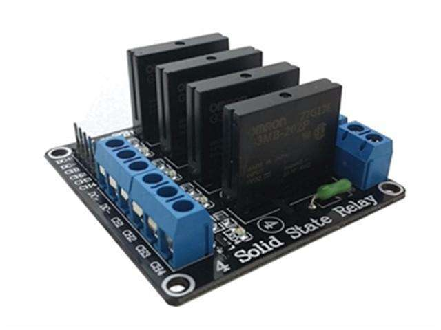 BSK SOLID STATE RELAY BRD 4CH 5V - Communica [Part No: BSK SOLID STATE  RELAY BRD 4CH 5V]