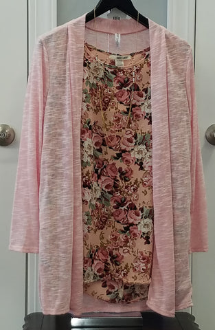 Heather Rose Mid Length Waterfall Cardigan