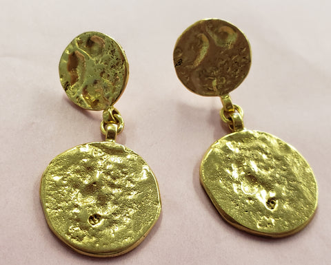 31 Bits Antiquity Coin Earrings